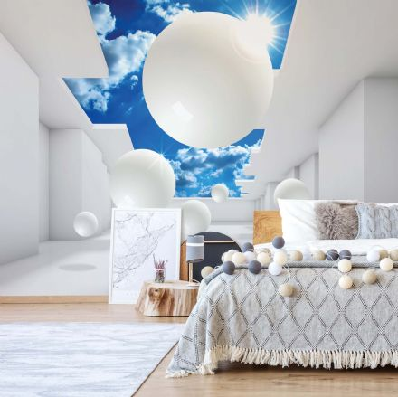 Abstract composition 3D wall mural photo wallpaper non-woven